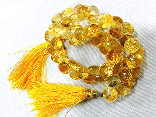 Super Quality Gemstone Beautiful Jewelry Citrine Beads, AAA Citrine Onion Briolettes, Faceted Beads, 9mm Beads, Strand 4 Inches Code-JP-3223   B07KNPSMSS