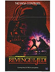 "Star Wars: Revenge of the Jedi - Authentic Original 27"" x 41"" Folded Movie Poster"