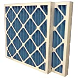 US Home Filter SC40-16X16X2 MERV 8 Pleated Air Filter (Pack of 6), 16'' x 16'' x 2''