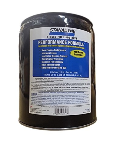 Performance Stanadyne Formula - Stanadyne Performance Formula 5 Gallon Pail Treats 2,500 gallons diesel fuel per Pail