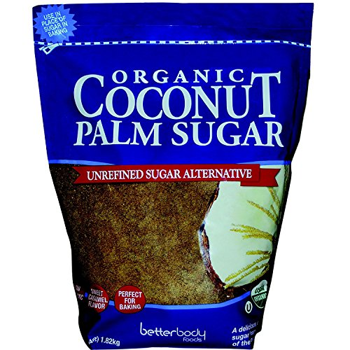 BetterBody Foods Organic Coconut Palm Sugar (4 lbs.) by BetterBody Foods
