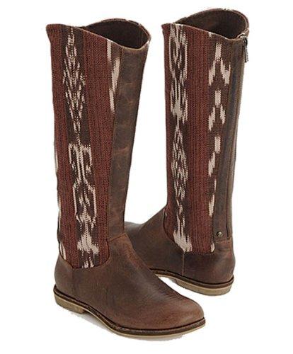 Reef Womens Santa Marta Boot Brown/Multi Size 8.5