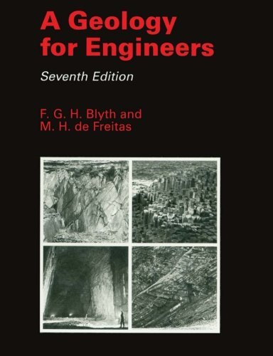 A Geology for Engineers, Seventh Edition [10/3/1984] F.G.H. Blyth