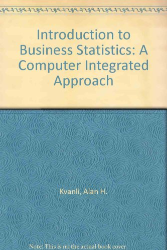 A Introduction to Business Stati Stics