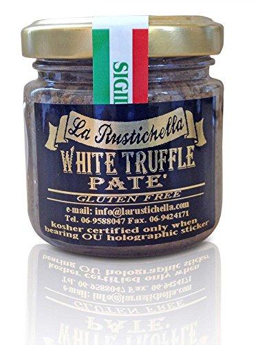 - La Rustichella - White Truffle Pate - Small (90 g, 3.2 oz) - Kosher, Gluten Free