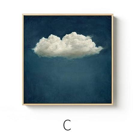 SCLPOSTER Cartel Arte Moda Simple Creativo Arte Lienzo ...