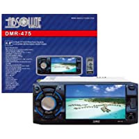 Absolute USA DMR-475 4.8-Inch DVD/MP3/CD Multimedia Player Widescreen Receiver with USB, SD Card and Detachable Front Panel