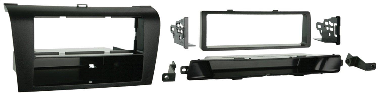 Metra 99-7504 Single DIN Installation Dash Kit for 2004-2009 Mazda 3 -Black