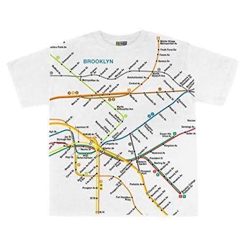 Nyc Subway Map Tshirt.Nyc Subway Line Toddlers Brooklyn Map Tees 5kvyy1109070 20 99