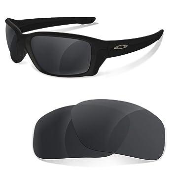 Lentes de Recambio Polarizadas Black Iridium para Oakley Straightlink | Sunglasses Restorer