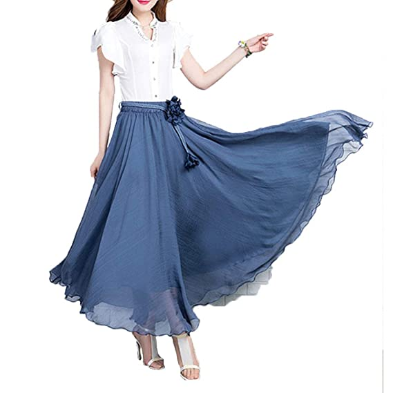 Faldas para Mujer Casual para De Moda Verano Falda Mujer Ropa ...