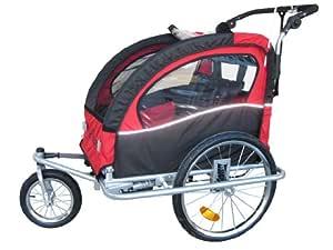 how to attach baby bike trailer