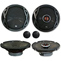 JBL Club 6.5 2-Way Component System plus 6520 6.5 2-Way Car Audio Coaxial Speakers