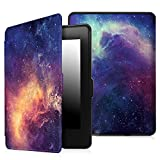 Fintie SmartShell Case for Kindle Paperwhite - The Thinnest and Lightest PU Leather Cover Auto Sleep/Wake for All-New Amazon Kindle Paperwhite (Fits All 2012, 2013, 2015 and 2016 Versions), Galaxy