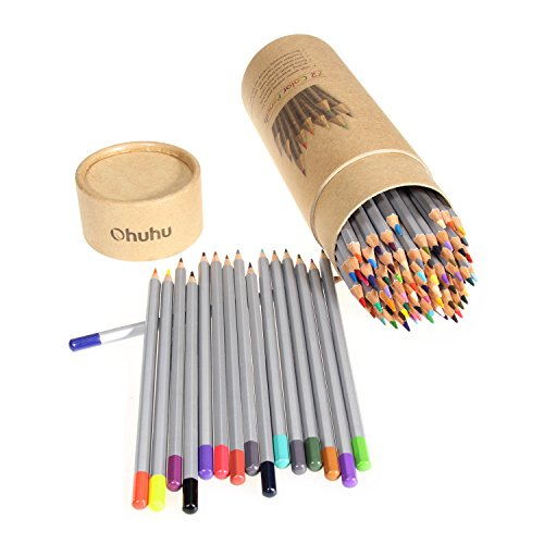ohuhu 72color colored pencildrawing pencils for sketch
