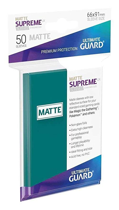 Amazon.com: Ultimate Guard UGD010815 Supreme UX Card Sleeves ...