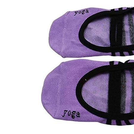 Peng Sheng Women Yoga Socks Pilates Non-slip Dance Barre Fitness Anti-slip Socks