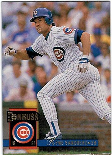 1994 Donruss Series I & II Chicago Cubs Team Set with Ryne Sandberg - Sammy Sosa - Mark Grace - 26 Cards