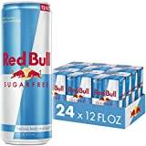 Red Bull Energy Drink, Sugar Free, 24 Pack of 12 Fl Oz, Sugarfree (6 Packs of 4)