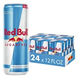 Red Bull Energy Drink Sugar Free 24 Pack 12 Fl Oz, Sugarfree (6 Packs of 4)