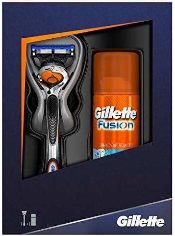 Coffret Gillette – Fusion Proglide Flexball – Afeitadora y Gel de ...