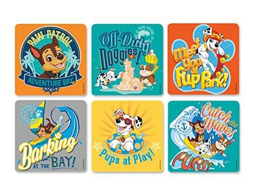 Paw Patrol Stickers 100 per roll