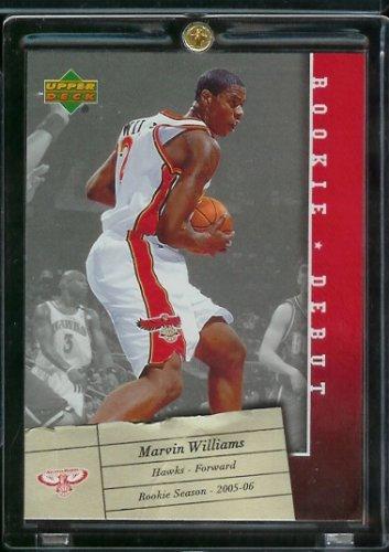 2006 Upper Deck Football Rookie Card IN SCREWDOWN CASE! #3 Marvin Williams Mint (Williams Rookie Card)