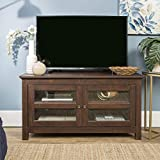 WE Furniture Simple Wood Stand for TV's up to 48