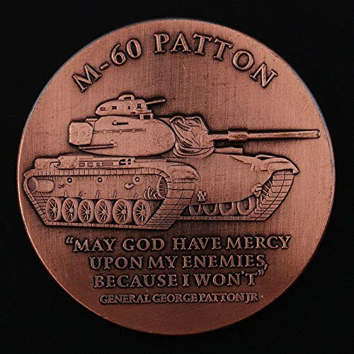 Non-Currency Coins - M60 Patton Main Battle Tank Commemorative for sale  Delivered anywhere in Canada