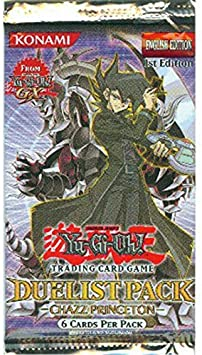 Yu-Gi-Oh Cards - Chazz Princeton - Duelist Booster Pack [Toy]: Amazon.es: Juguetes y juegos