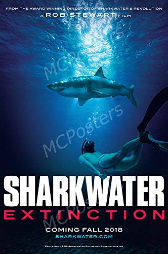 MCPosters - Sharkwater Extinction Glossy Finish Movie Poster - MCP647 (24