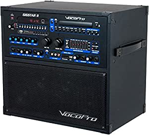 vocopro gigstar ii portable 100w 4 channel pa karaoke system musical instruments. Black Bedroom Furniture Sets. Home Design Ideas