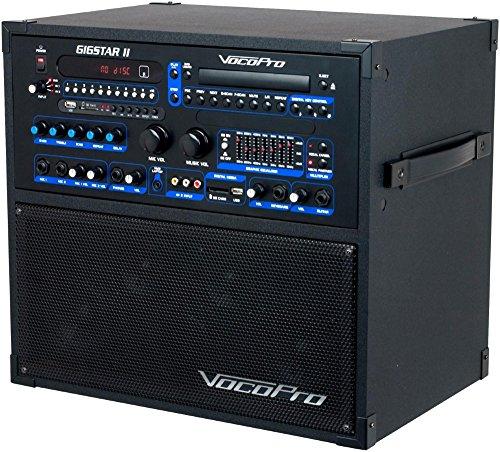 Channel System 4 Pa (VocoPro Gigstar II Portable 100W 4-Channel PA/Karaoke System)