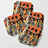 Society6 Drink Coasters, The Dance by violariley, set of 4