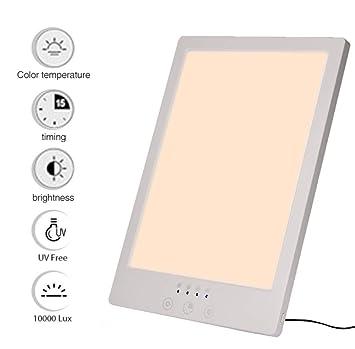 ZLIAO Lámpara De Fototerapia Triste Bionic Luz Solar del USB Touch ...