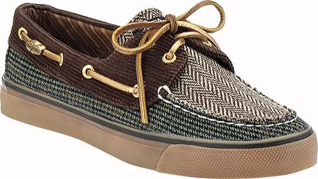 Sperry Top-sider Femme Bahama Chaussure Bateau 2 Yeux Marron