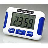 Nument 5 times Alarm style Timer with Clock for study Work efficiency medicine remind and nursing baby