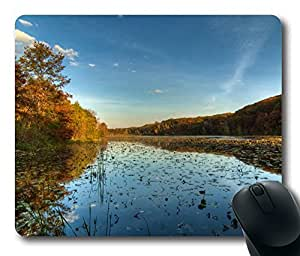Mouse Pad - Jensen Autumn Durable Office Accessory Desktop Laptop MousePad and Gifts Gaming mouse pads