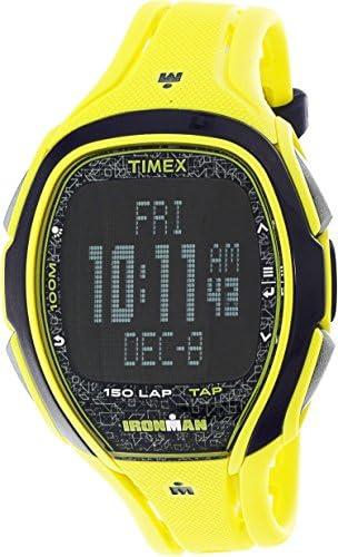 Timex Ironman Sleek TW5M08300 Yellow Resin Quartz Diving Watch