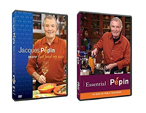 The Chef Jacques Pepin PBS Cooking DVD Collection: Essential Pepin / More Fast Food My Way (Pepin Dvd My Way Jacques)