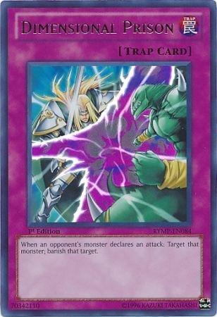 YU-GI-OH! - Dimensional Prison (RYMP-EN084) - Ra Yellow Mega-Pack - 1st Edition - Ultra Rare