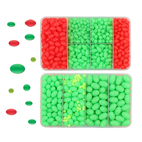 Croch Luminous Fishing Beads for Rigging Trolling lures (1000) ()