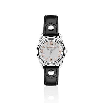 a8282e28e6f Relógio Monte Carlo Feminino em Couro Preto  Amazon.com.br  Amazon Moda