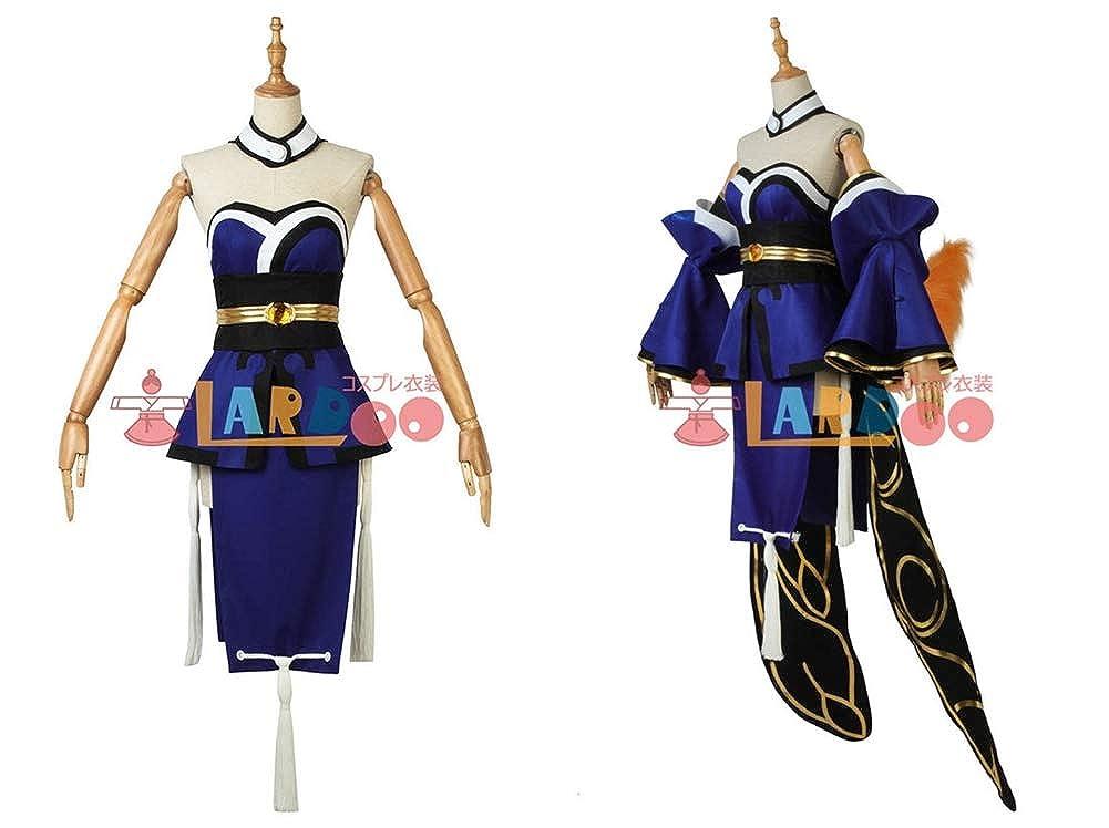 Amazon.com: Tamamo - Disfraz de camarero azul para Cosplay ...