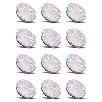 Image of Health and Household PAR36 LED 12Watt Light Bulb Outdoor Garden Landscape Lighting Low Voltage 12V AC DC AR111 G53 Landscaping Yard Entrance Path Spot IP65 Lamp 6000k Pure White 12 Volt Pool Accent Lights Value 12W 12Pack