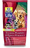 Lucy Pet Formulas for Life Salmon, Pumpkin & Quinoa Dog Food, 4.5 LB