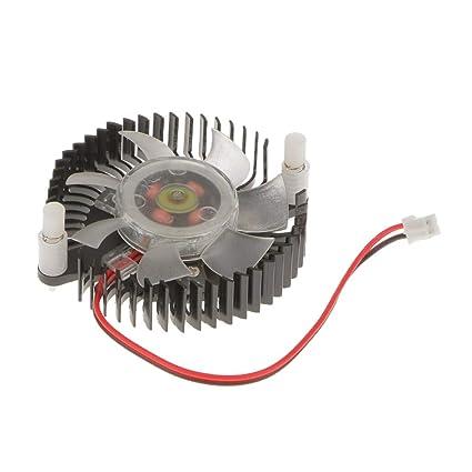 Multicompatible, Ventilador de 12 V para Tarjeta gráfica VGA ...