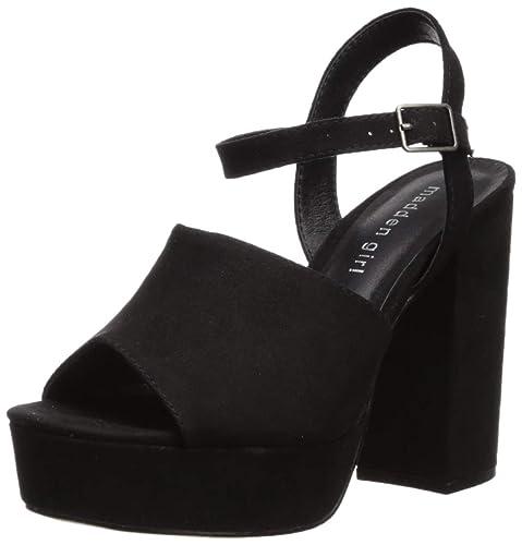 954024fab67 Madden Girl Women s Garden Heeled Sandal  Amazon.co.uk  Shoes   Bags