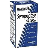 Health Aid Serrapeptase 60000iu <b>New</b> , 30 tapasules