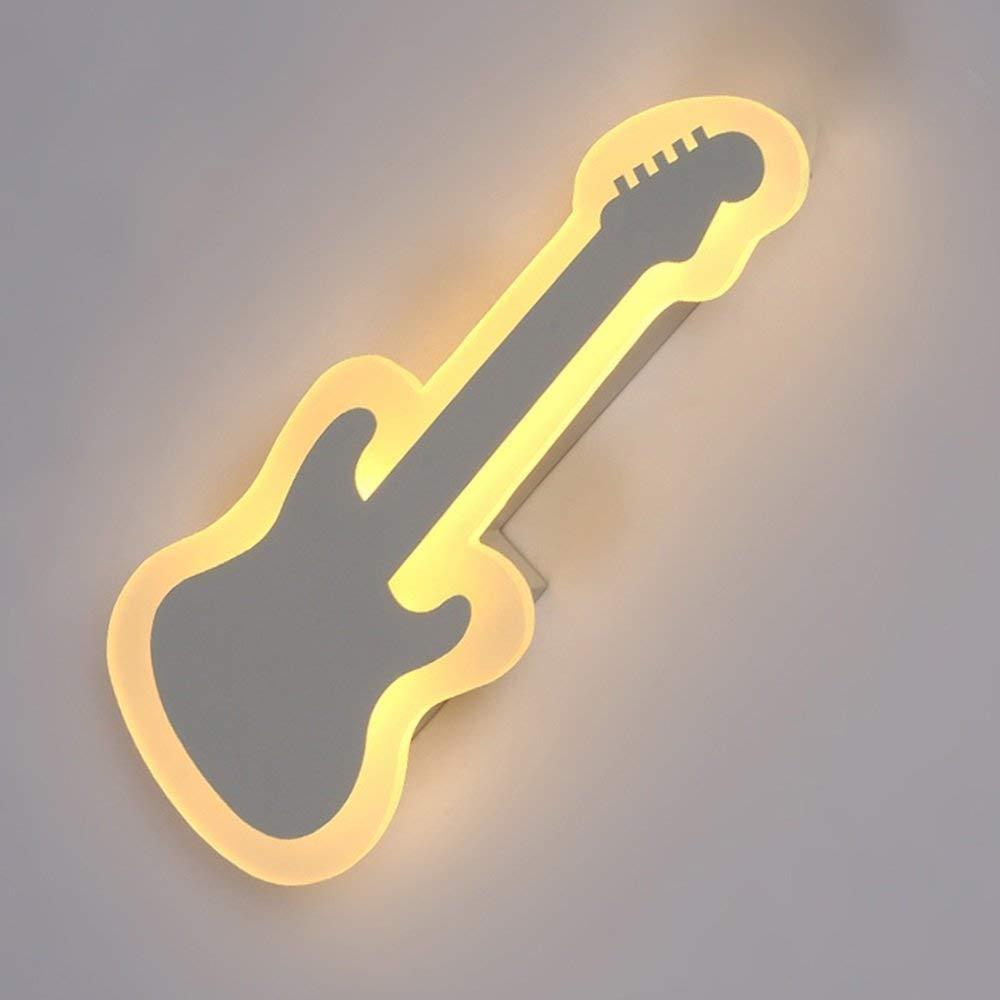 FuweiEncore Die Acryl LED Wandleuchte Wandleuchte Moderne Persönlichkeit Violine (Farbe   -, Größe   -)
